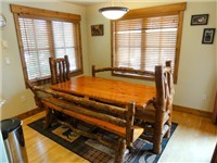 Large Dining Area for everyone to enjoy a good meal during your vacation to Steamboat Springs, CO!