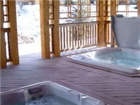 Shared outdoor hottubs