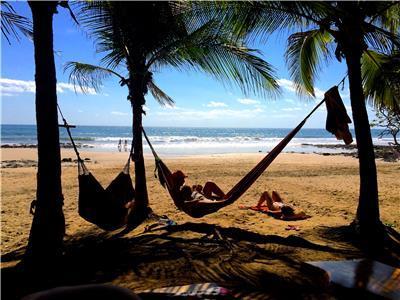 Avellanas Beach and Lola's Restaurant - Beach in Playa Avellanas
