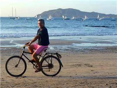 Beach and Town in Tamarindo - Beach in Tamarindo