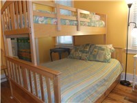 Guest Room with Full /Twin Bunkbed