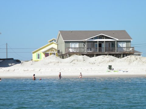 Dauphin Island vacation rental home with swimmers