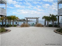 Great dockside grilling area and gazebo