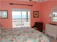 Bedroom #3 is another Master suite with a King bed and great Gulf