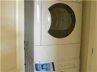 New, high-efficiency washer and dryer
