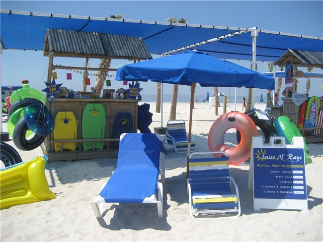 Chaise N Rays - everything you need for the beach!