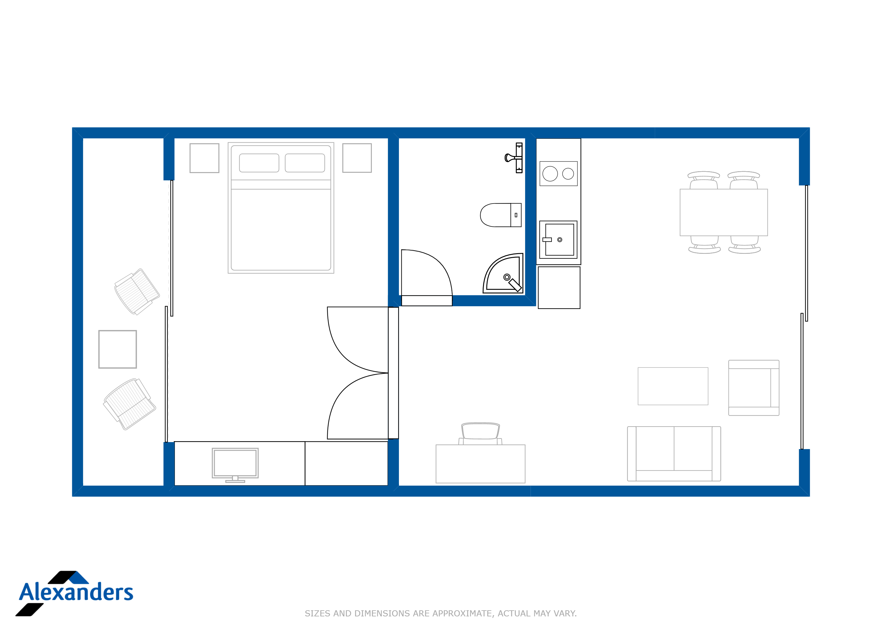 The Club Residence 2302 Floor Plan