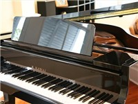 More than one Broadway composer has tickled the ivories of the Kawai grand piano.