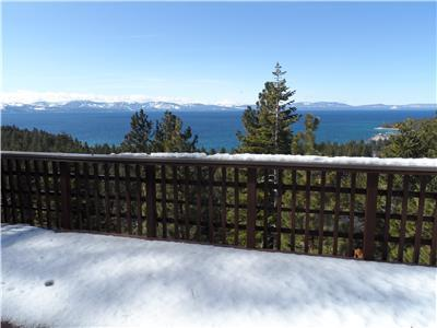 Breathtaking panoramic views of Lake Tahoe. 3 bedroom House near Zephyr Cove beach