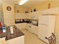 Carousel's fully equipped kitchen has all the appliances you could need, and plenty of cupboard space.