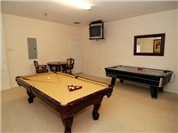 You would expect a home of this quaility to have a games room, and Acadia does.