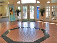 The beautiful main clubhouse area boasts a business center, and an information desk where you can check in, collect tickets, and arrange services.