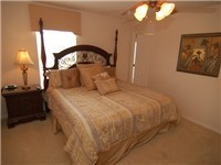 This Queen size bedroom completes the 5 bedrooms the Acadia has to offer.....