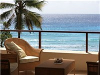 Enjoy a cool beverage on your gorgeous wrap-around patio overlooking the sparkling Caribbean Sea...