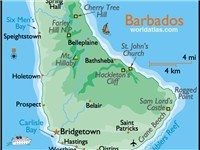 Just 21 x 14 miles in size, Barbados is amazingly diverse. We are on the south coast.