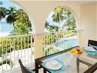 Sapphire Beach Condominiums in St Lawrence Gap: Dover Beach