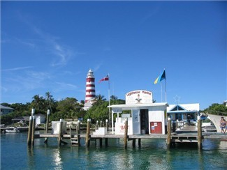 Lighthouse Marina. Mostly fuel, stores, and a boatyard.
