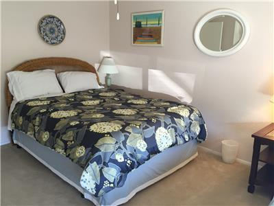 Other side of guest bedroom with full bed