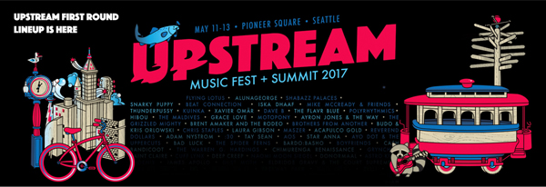 Inaugural Upstream Music Fest and Summit