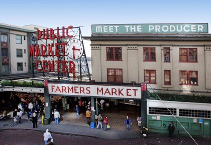 Pike Place Market and Seattle Oasis Vacation Rentals