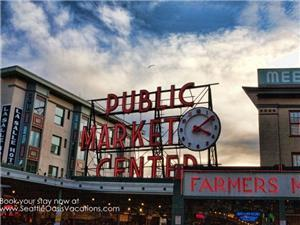 Blocks to the Pike Place Market