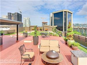 3000 square foot roof top deck.