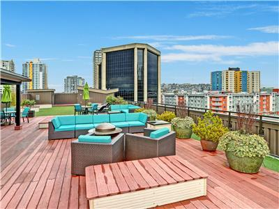 3000 square foot roof top deck