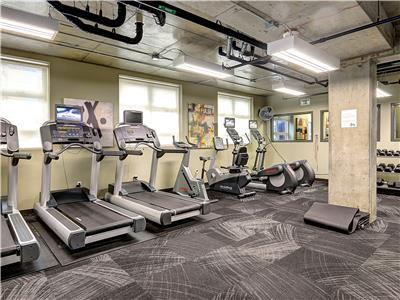 Fitness center is available for guest use.