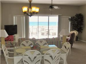 YOUR VIEW OF THE BEACH FROM KITCHEN