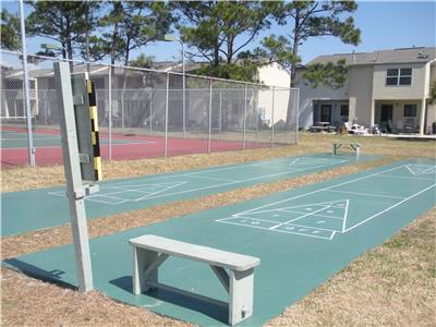 ShuffleBoard Courts at Kimberly Dr.