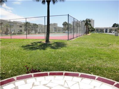 TENNIS ANYONE? The courts are at your back door.