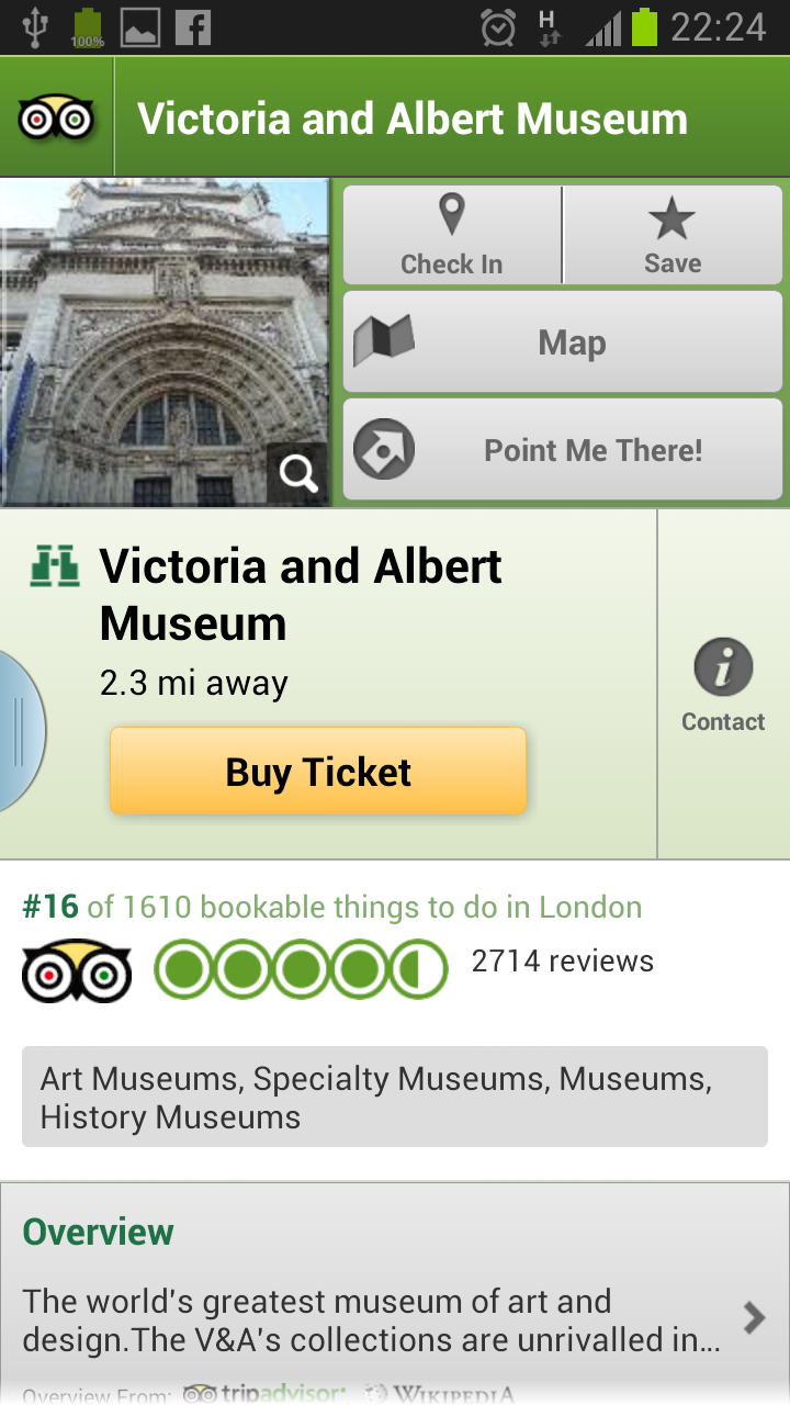 London City Guide App