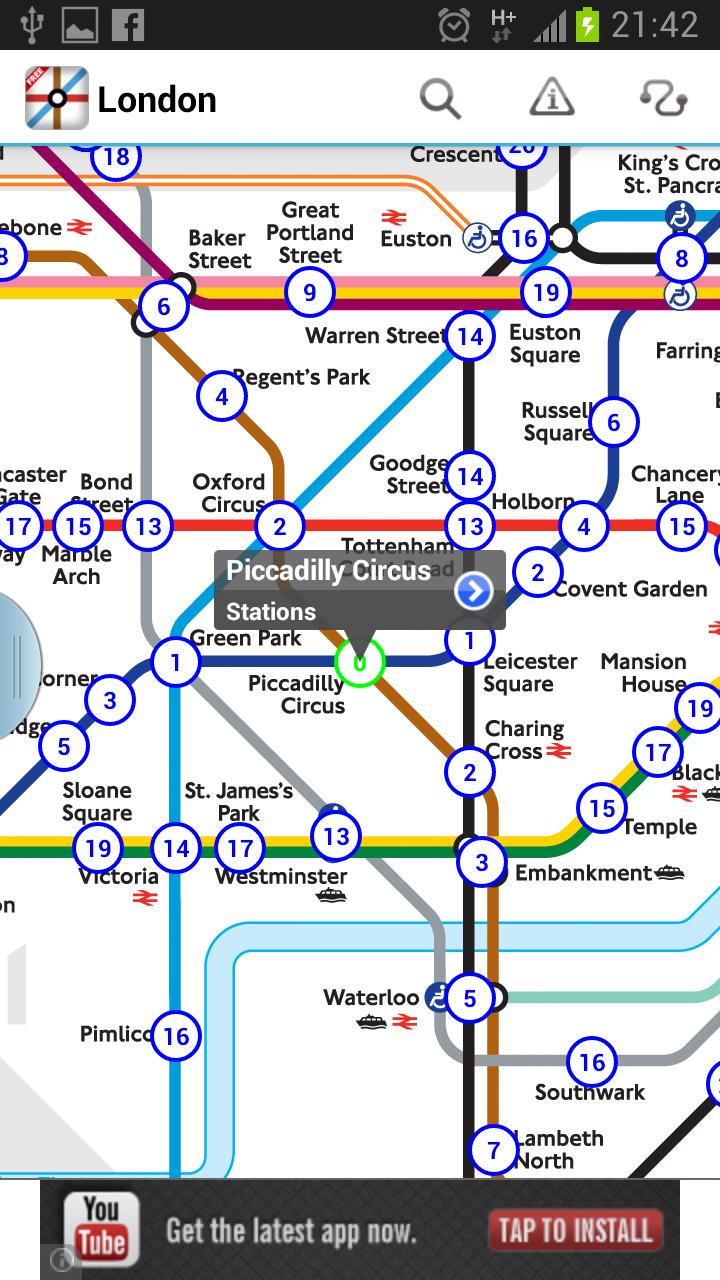 London Underground App