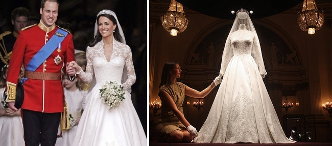 Kate Middleton - Royal Wedding Dress