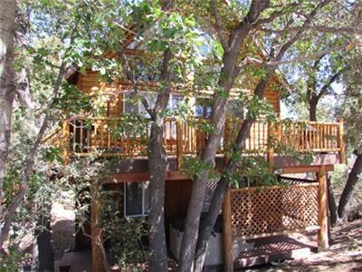 <p>Cabin #27 Take 10% off 2 nights or 15% off 3 nights SUMMER SPECIAL! Effective July 24, 2015 thru Septemeber 3, 2015. Excludes holidays. The 10% will auto apply at time of booking. To receive 15% off 3 nights you will need to call our office so we can apply the special.</p><p>Talk about a cabin in the mountains, this is it! 3 bedrroom PLUS A LOFT. Sleeping for 10 with wireless internet and hot tub on the deck. Close to everything.</p><p></p><p></p><p></p> - 11230