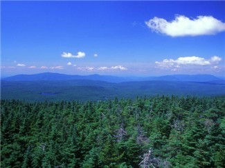 Incredible scenic views from the top of Stratton Mountain Vermont