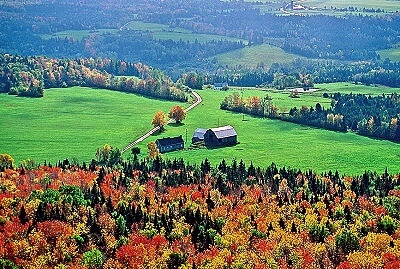 Enjoy the scenery of Vermont's north East Kingdom