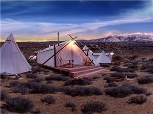 Luxury Tents in Moab