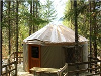 Yurts in Whistler