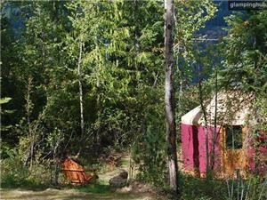 Yurts in Sandpoint