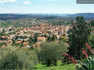 The city of Grasse