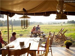 Luxury Tents in Caledonia