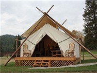 Luxury Tents in Whitefish