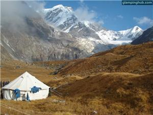 Luxury Tents in Chopta