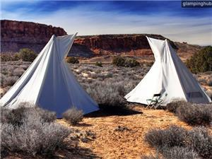 Tipi in Moab