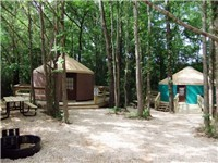 Yurts | RV in Hot Springs National Park