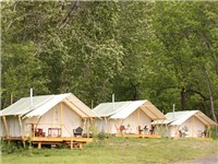 Luxury Tents | Cabins in Kooskia
