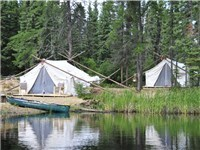 Luxury Tents in Timmins