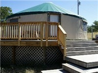 Yurts in Lyle