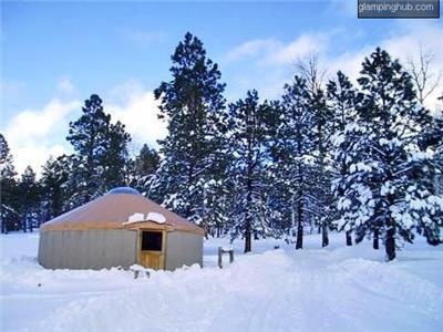 Winter Yurts in the United States Accommodations  